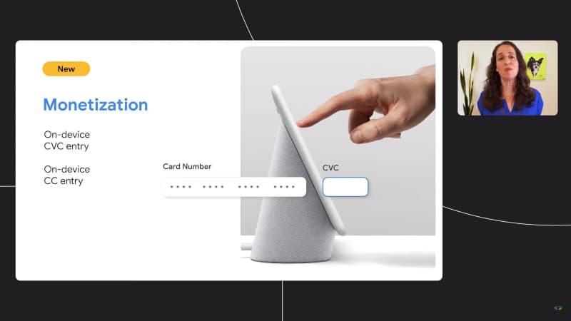 Un esempio di pagamento attraverso uno Smart Display