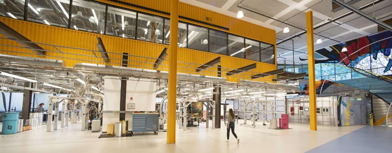 Il nuovo Quantum AI Campus di Google a Santa Barbara, in California