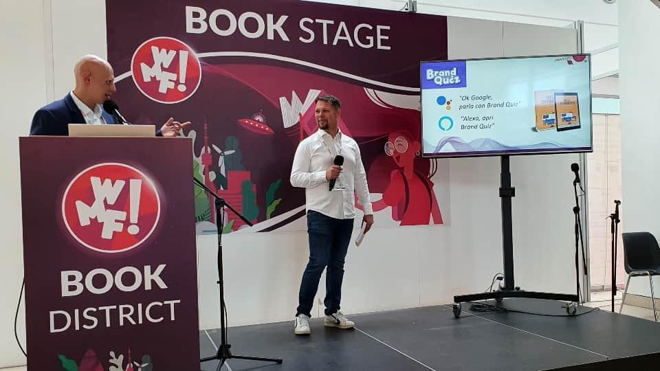 Alessio Pomaro al WMF 2021: presentazione del libro Voice Technology